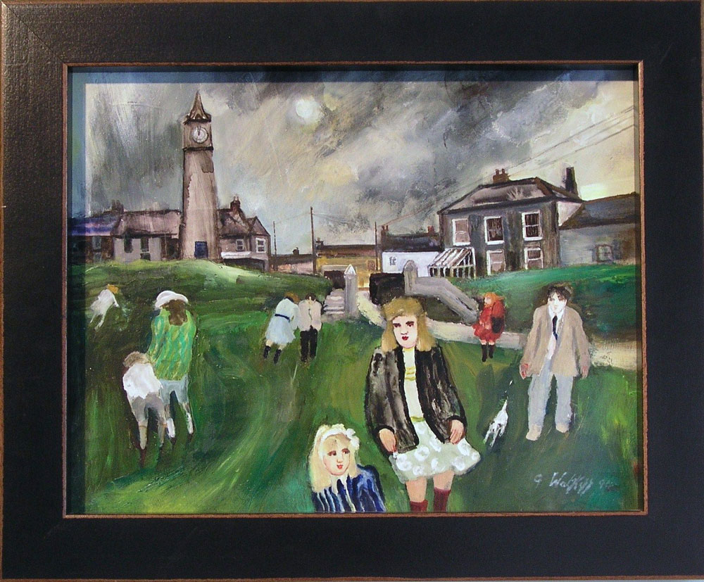 A Winter's Day, St Just (signed and dated 1994) (SOLD)