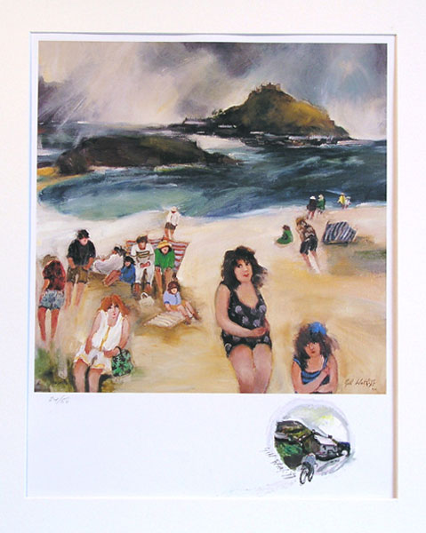 Bathers, Marazion (2002) (SOLD)