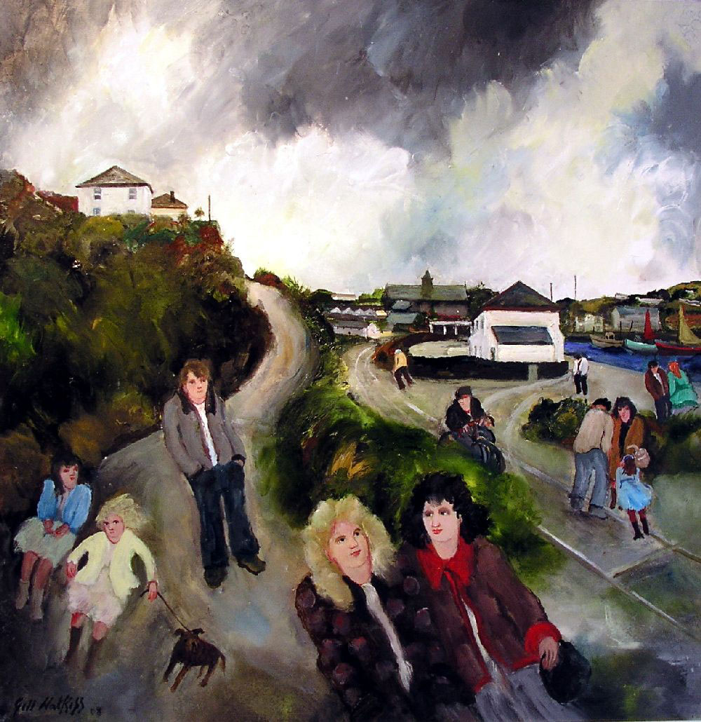 North Quay, Hayle (2008) (SOLD)