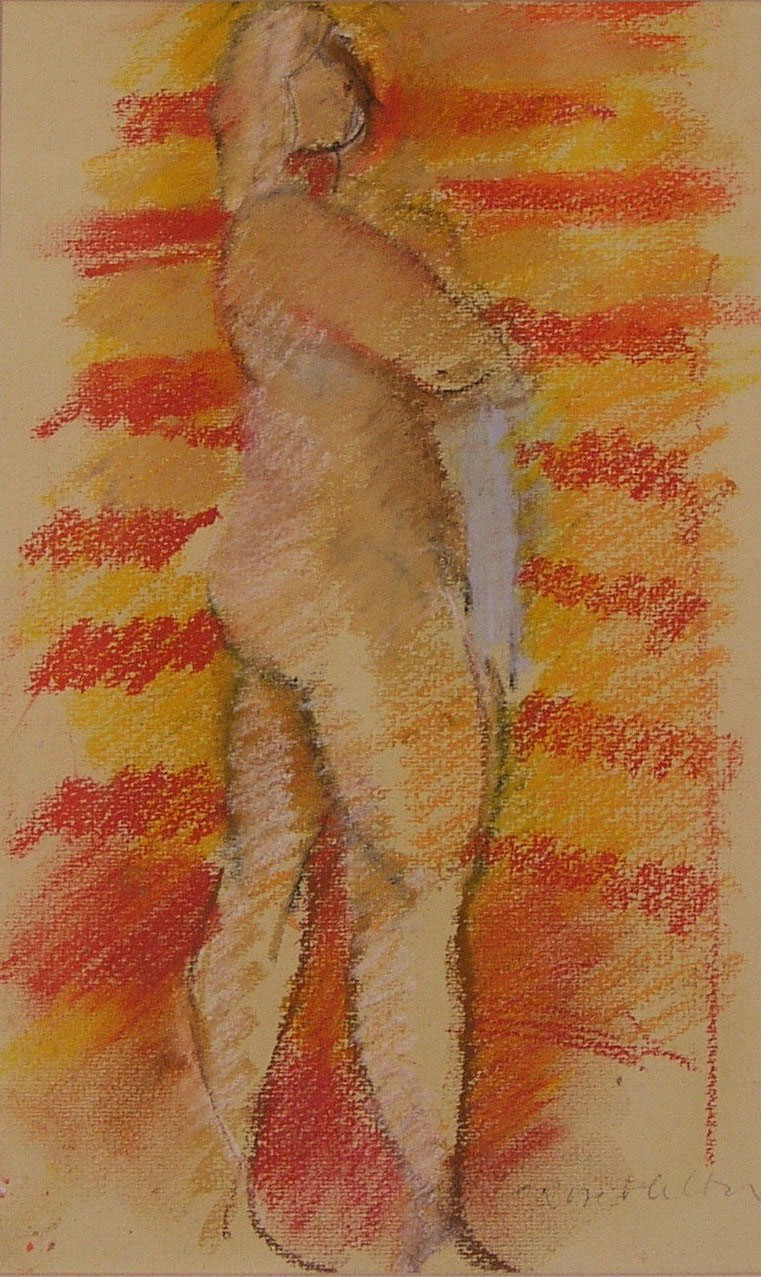Standing Nude (SOLD)
