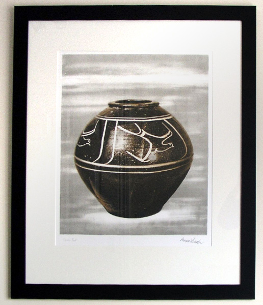 Bernard Leach - Black Jar (1973-4) (SOLD)