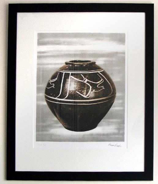Bernard Leach - Black Jar (1973-4) (SOLD)