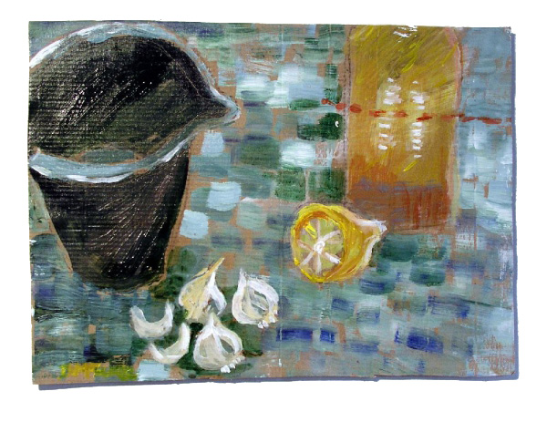 Daphne McClure - The Mayonnaise Pot (SOLD)