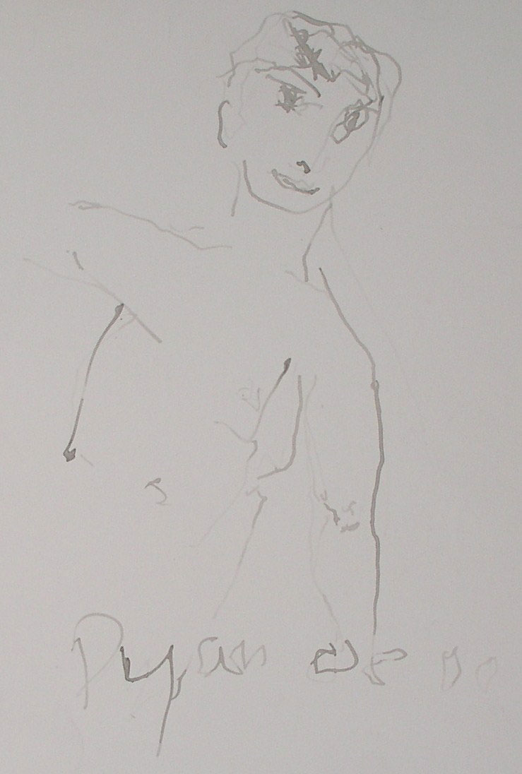 Julian Dyson - Figurative Study - SOLD