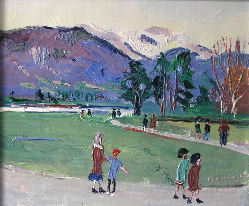 Fred Yates - 'Annely' By The Lake - £2,300