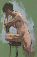 Eric Ward - Nude - (SOLD)