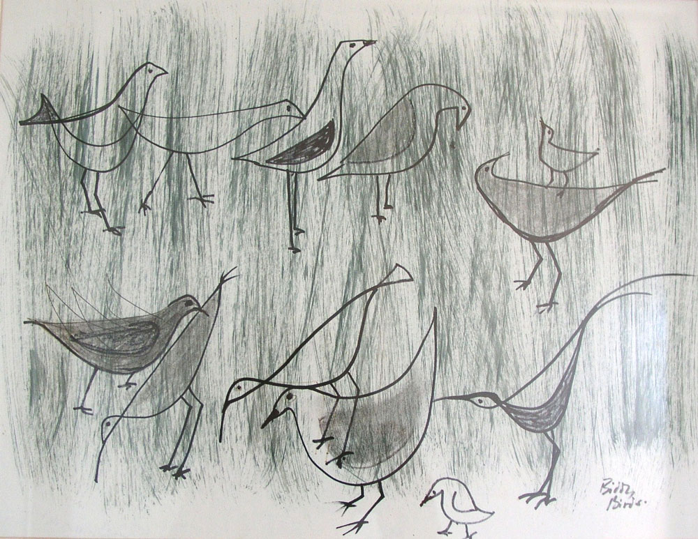 'Biddy Birds 1' (SOLD)