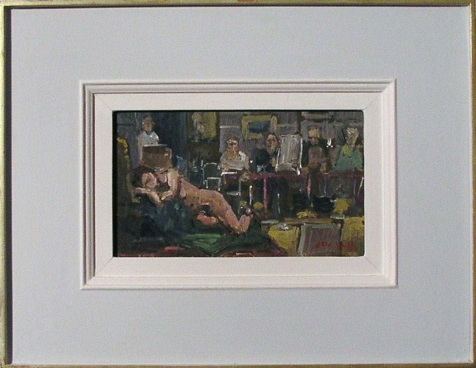 Eric Ward - The London Sketch Club, Tite Street  - SOLD