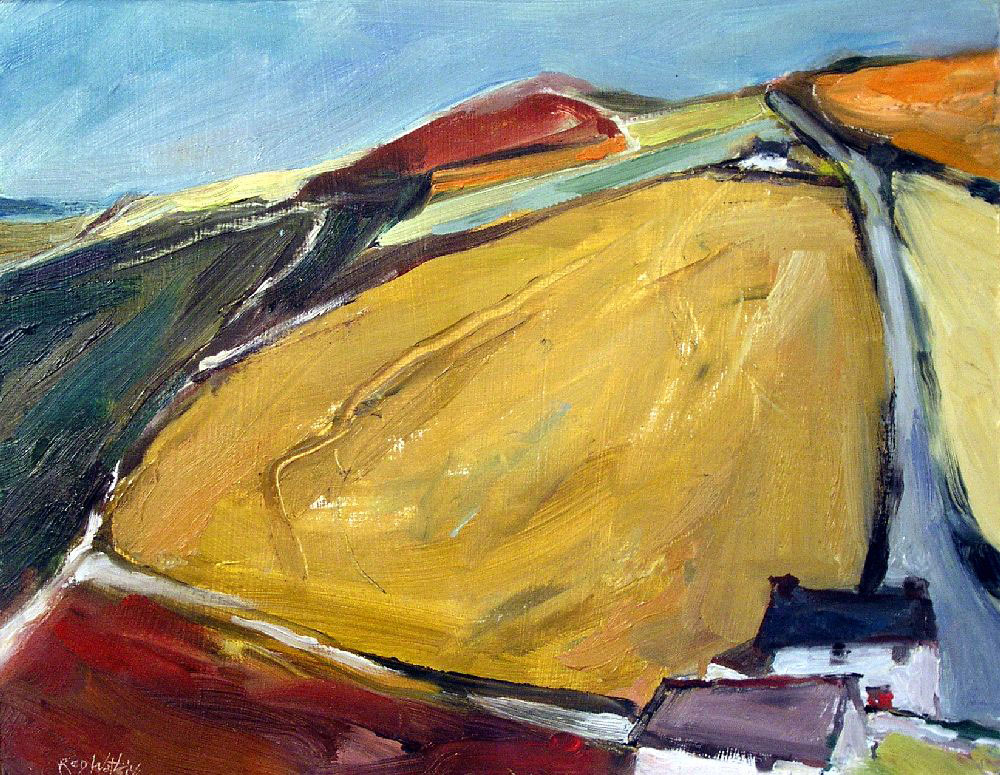 Countryside Scene (2009) (SOLD)