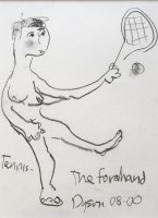 Julian Dyson - The Forehand - SOLD