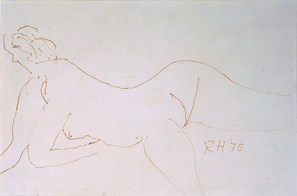 Roger Hilton - British Nude (SOLD)