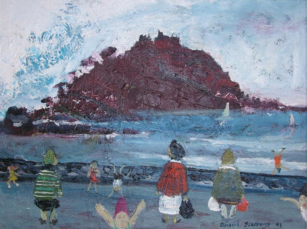 Simeon Stafford - St Michael's Mount, Cornwall - £2,300